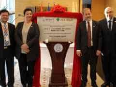 inauguration Chimie Pekin