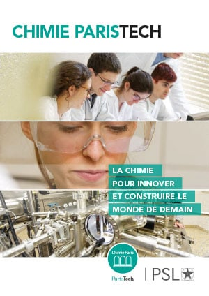 Chimie ParisTech institutionnel 2018 : Plaquette FR